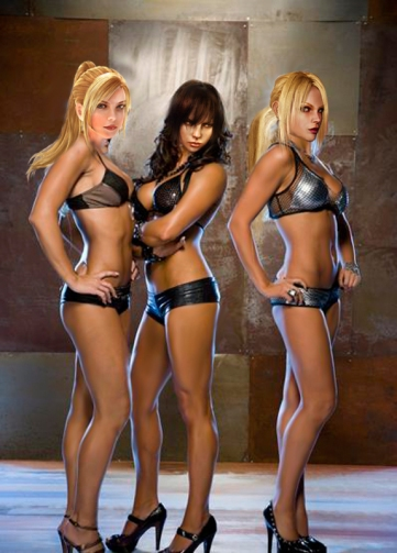 WWE Divas: Michelle, Maryse and Eve