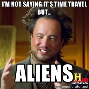 time aliens