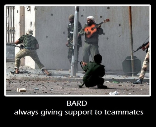 Bard - Always Giving Support To Teammates