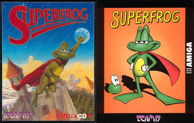 cover, superfrog, amiga 32