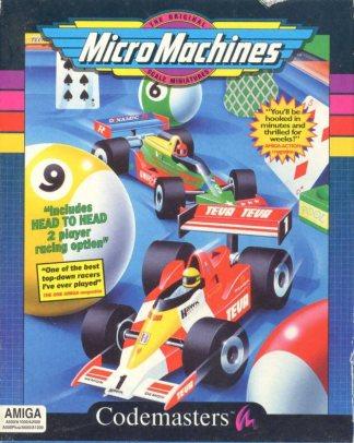 micro machines, amiga, 1991, retrogame