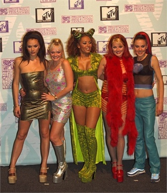 spice girls; 90s; fashion
