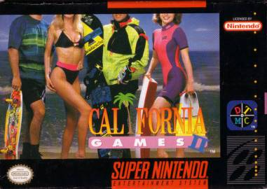 california games 2, retrogaming, colori shocking