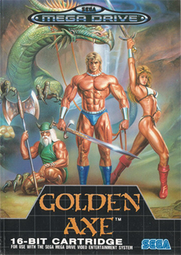 golden axe; sega; retrogaming; muscoli