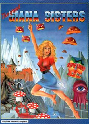 great giana's sisters; gianna; retrogaming