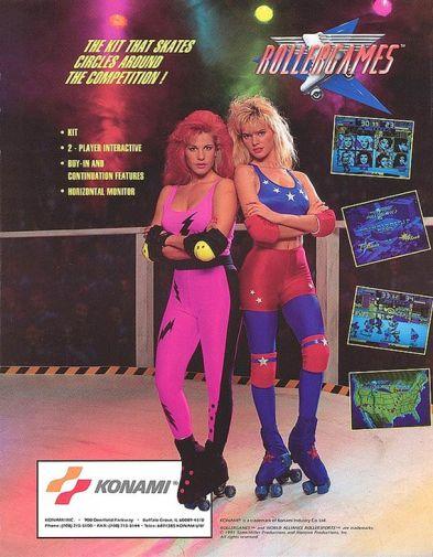 rollergames; konami; jem e le holograms; retrogaming; wrestling