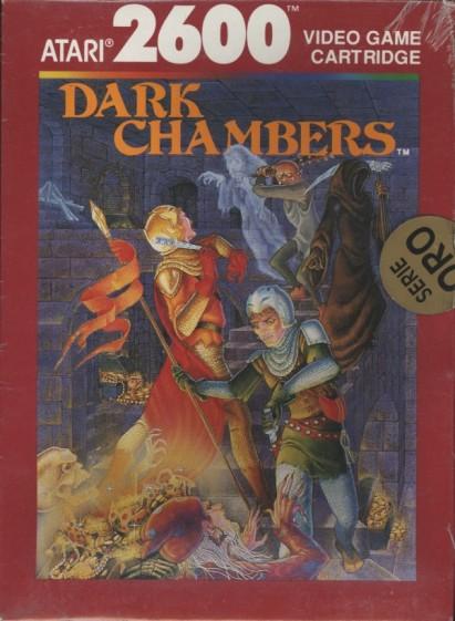dark chambers, atari 2600, retrogame, videogames