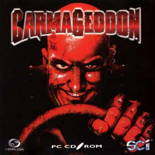 carmageddon, 1997, pc, retrogame