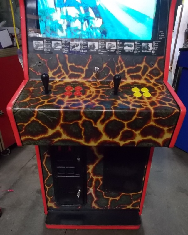 PRIMAL RAGE Upright Arcade Machine Game by ATARI for sale (3)