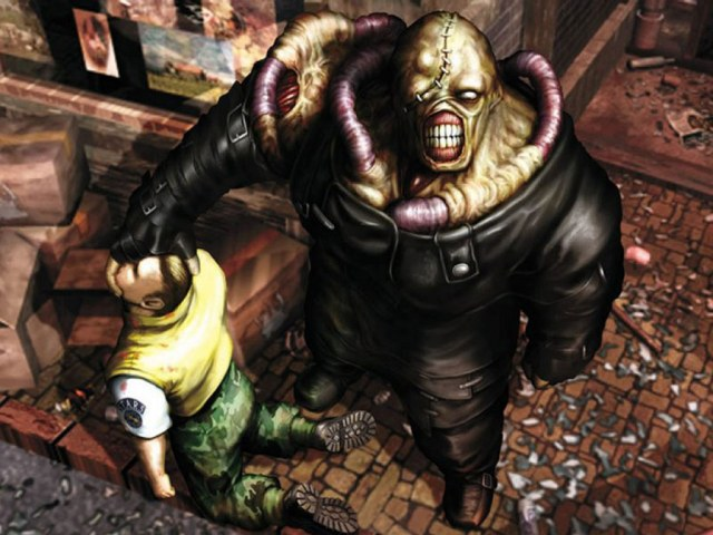 resident evil 3, nemesis, villain, S.T.A.R.S., paura